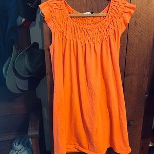 ✨ Melon Color Cotton Summer Dress/Coverup Size XL✨